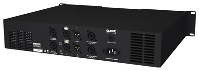QM1000P QM Series Amplifier back panel