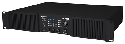 QM1000P QM Series Amplifier front panel