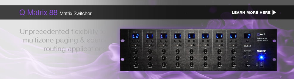 Q Matrix 88 Matrix Switcher: Learn More