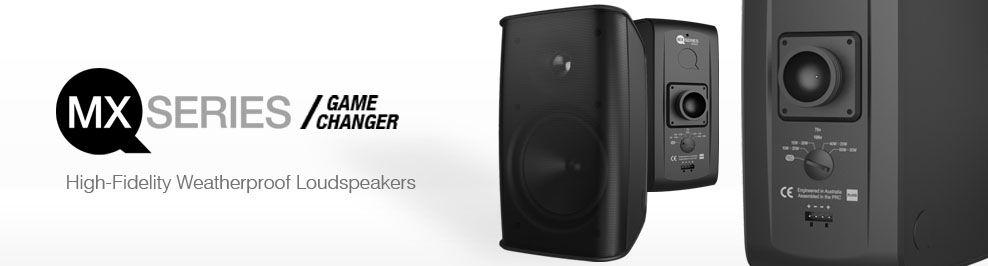 Quest MX Series - High Fidelity  Weatherproof Loudspeakers